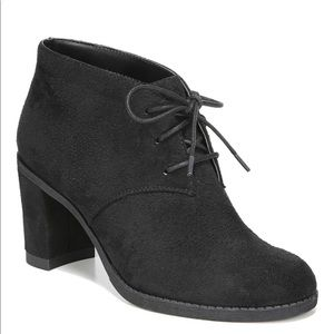 Dr. Scholl's Later Black Heeled Booties